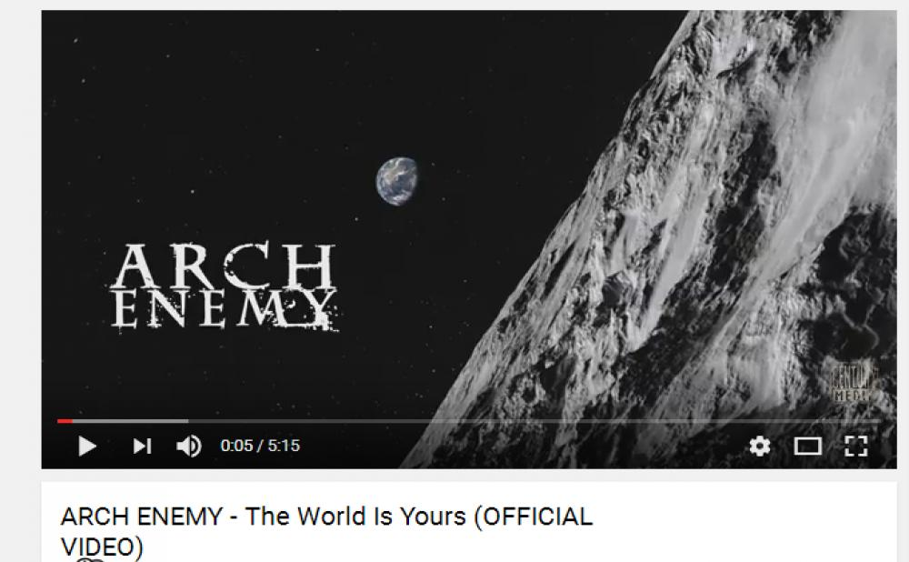 ARCH ENEMY ESTRENA VIDEO