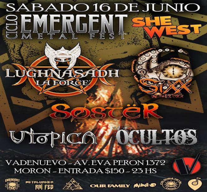 CICLO EMERGENT METAL SHE WEST