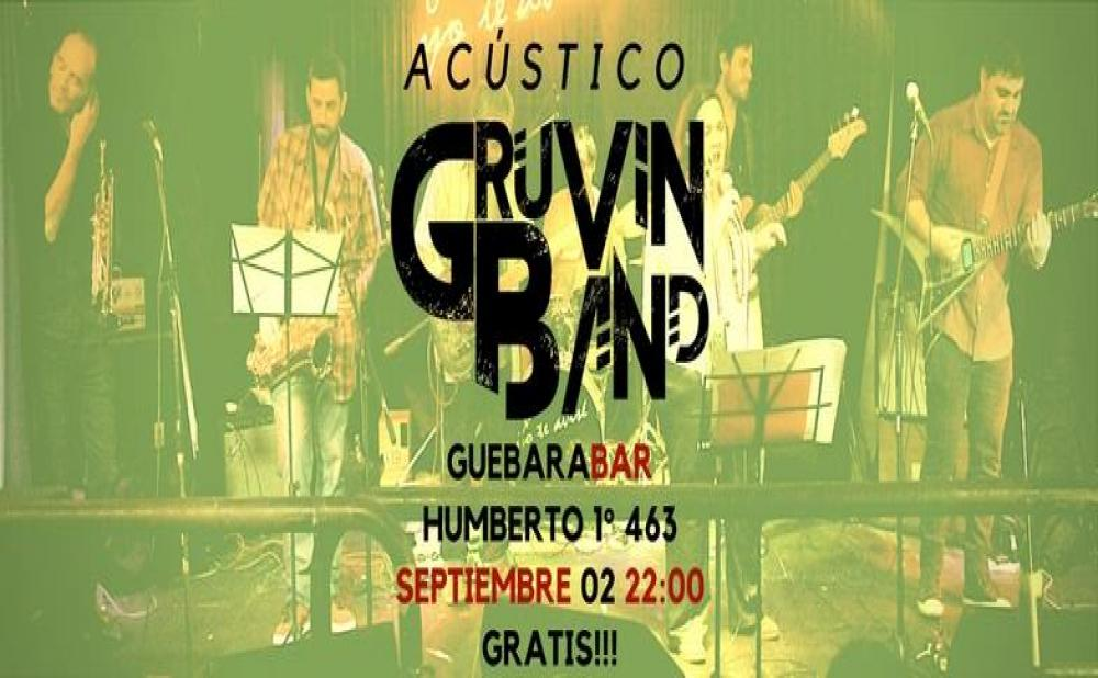 GRUVIN BAND EN GUEBARA BAR