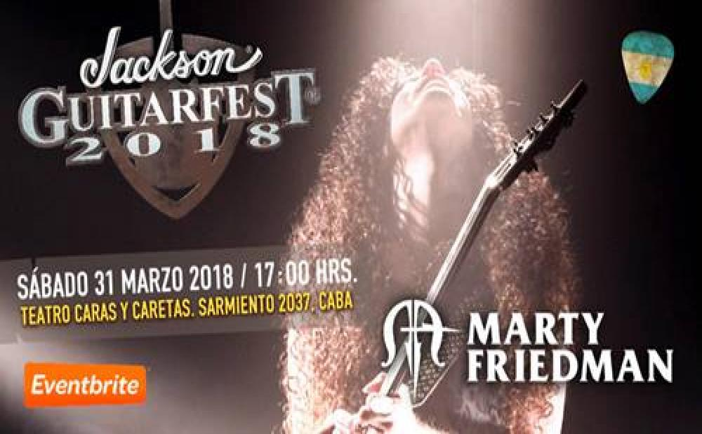 GUITARFEST ARGENTINA 2018 MARTY FRIEDMAN